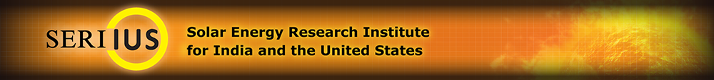 Seriius - Solar Energy Research Institute for India and the United States